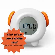 toddler stay in bed light clock teaches child when its