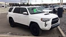 2019 Toyota Forerunner by 2019 Toyota 4runner Trd Pro In White