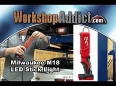 Milwaukee Stick Light M18 Milwaukee M18 Led Stick Light Model 2352 20 Youtube