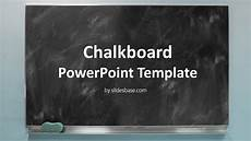 Chalkboard Background For Powerpoint Blackboard Chalkboard Powerpoint Template Slidesbase