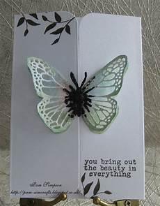 Fold Butterfly Pamscrafts Butterfly Gate Fold Card