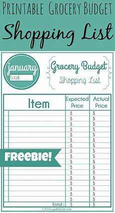 Make A Grocery List With Prices A Family Affair To Remember Printable Grocery Lists