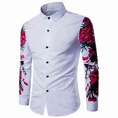Designer Shirt Pattern 2017 New Arrival Man Shirt Pattern Design Long Sleeve