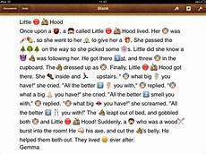 Emoji Stories Utilising The Emoji Keyboard In The Classroom