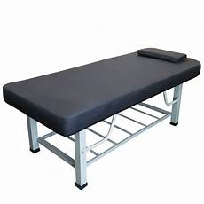 toa metal framed square legs stationary spa table