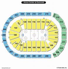 Arena At Gwinnett Center Seating Chart Infinite Energy Arena Seating Chart Seating Charts Amp Tickets