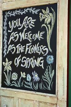 Cute Chalkboard Designs Spring Chalkboard Quotes Quotesgram
