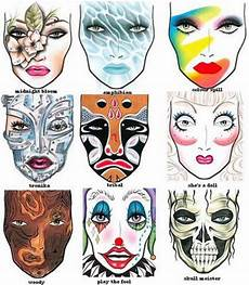 Face Painting Chart Mac Halloween Face Charts Addicted To Lipstick