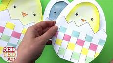 easter card template ks1 weaving cards with template easy easter card diy