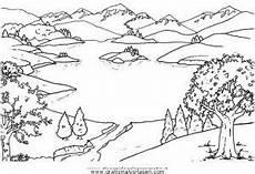 lago gratis malvorlage in diverse malvorlagen landschaft