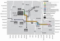 Light Rail Map Phoenix Tempe City Approves 50 Million For South Phoenix Light Rail