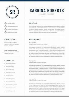 Resume Template Microsoft Word Mac Professional Manager Resume Template For Word Amp Mac Pages