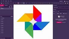 Designer Gravit Gravit Designer Tutorial Learn To Draw Google Photos Logo