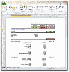 Excel Personal Finance Templates Download Excel Finance Personal Template