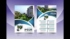 Flyer Design Examples Coreldraw X7 Tutorial 2 Flyers Design Templates With As