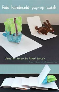 How To Make Templates Kids Homemade Pop Up Cards And Wonderland Wild About Here
