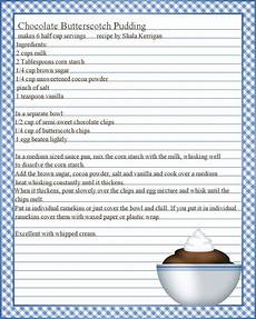 Word Template Recipe Full Page Recipe Templates Google Search Recipe Template