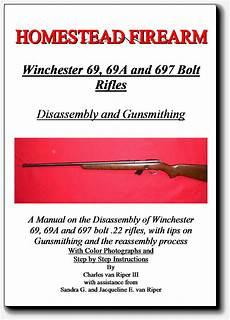 Disassembly Takedown Gunsmithing Manual Winchester Models