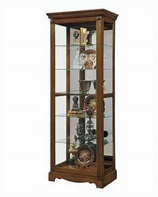 pulaski cabinet curio with lock pf 21458