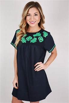 southern clothes for sweet southern shift dress in navy impressions