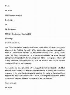 Complaint Letter Format Free 17 Sample Complaint Letter Templates In Google Docs