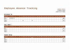 Employee Absence Template 10 Employee Tracking Templates Free Sample Example