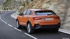 Audi Q3 S Line 2020 by 2020 Audi Q3 Sportback S Line Color Pulse Orange Rear