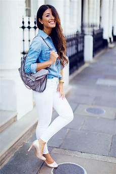 What To Wear With Light Blue Jeans How To Wear A Denim Shirt Amp Outfits In 21 Different Ways