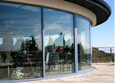 Cubed Glass Windows Curved Sliding Patio Doors Perfect Curved Glass Solutions