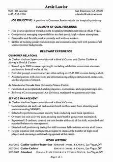 Hospitality Manager Resume Resume Sample Customer Service Hospitality
