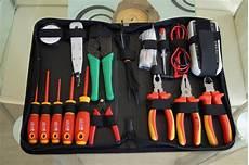 Elektriker Werkzeug Satzzuhause by Das Toolcraft Elektriker Werkzeugset Im Praxistest
