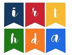 Free Happy Birthday Banner Printables Happy Birthday Banner Free Printable Paper Trail Design