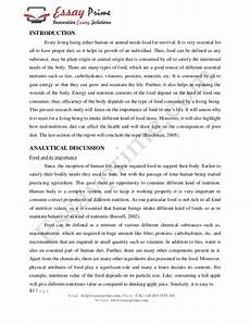Nutrition Essays Buy Essay Papers Here Essays On Nutrition