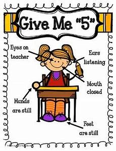 Give Me Five Rules Give Me 5 Poster By Fun In 1st With Ms B Teachers Pay