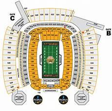 Pittsburgh Steelers Stadium Seating Chart Pittsburgh Steelers Tickets 59 Hotels Near Heinz Field