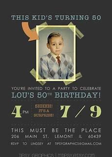 invitation ideas for party milestone surprise birthday party invite this kid s