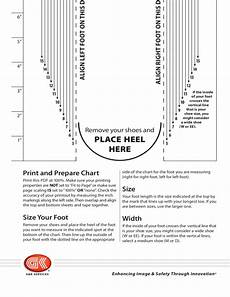 Wide Foot Measurement Chart Men S Shoe Sizing Chart Free Download