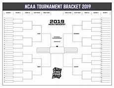 Blank March Madness Bracket Free March Madness Bracket To Print For 2019 Ncaa