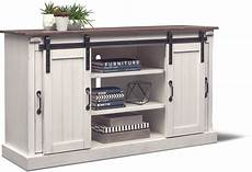 barn door tv stand white value city furniture and
