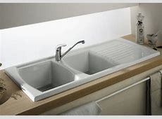 Drop In Kitchen Sink   Double Bowl Kitchen Sink with Drainer