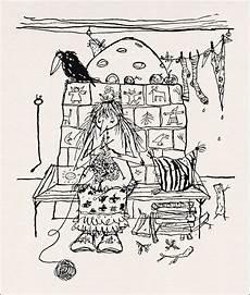 Ausmalbilder Zauberer Und Hexen Winnie Gebhardt Gayler Otfried Preussler Die Kleine Hexe