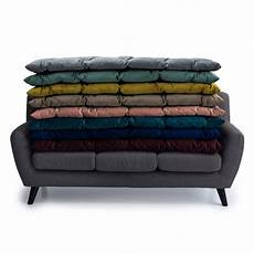 Sofa Seat Mat 3d Image by Luxurious Tufted Velvet Sofa Seat Pad Available In 3