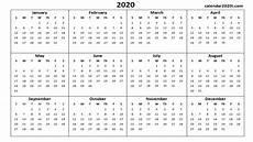 Print Online Calendar 2020 2020 Calendar Printable Template Holidays Word Excel