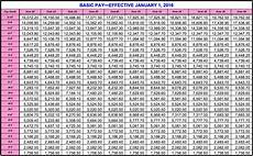 Bah Charts 2016 Dfas Military Pay Chart Gallery Of Chart 2019