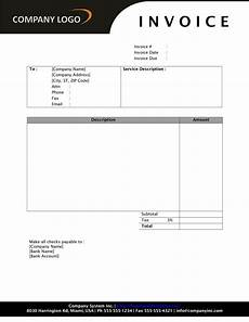 Ms Word Template Invoice Invoice Template Word 2010 Invoice Example