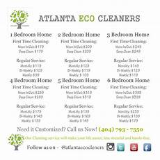House Cleaners Prices House Cleaning Prices Atlanta Eco Cleaners Premier House