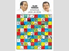 Ular Tangga Kinerja Jokowi JK   Republika Online