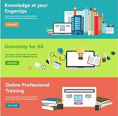 Online Education Templates Free Download Online Education Web Design Templates With Horizontal