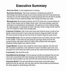 Executive Summary Report Executive Report 6 Free Pdf Doc Download Sample