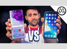 Samsung Galaxy S20 Ultra vs iPhone 11 Pro Max!